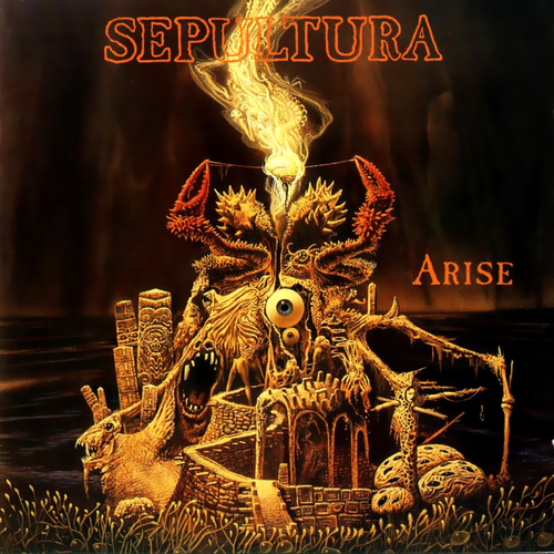 SEPULTURA - Arise cover