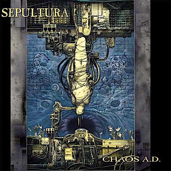 SEPULTURA - Chaos A.D. cover