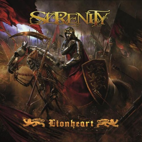 SERENITY - Lionheart cover