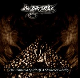 SERPENTERIUM - The Withered Spirit of a Shattered Reality cover
