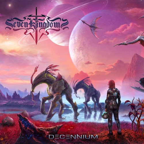 SEVEN KINGDOMS - Decennium cover