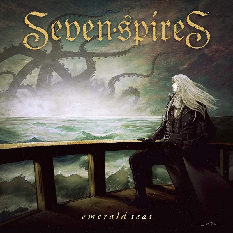 SEVEN SPIRES - Emerald Seas cover