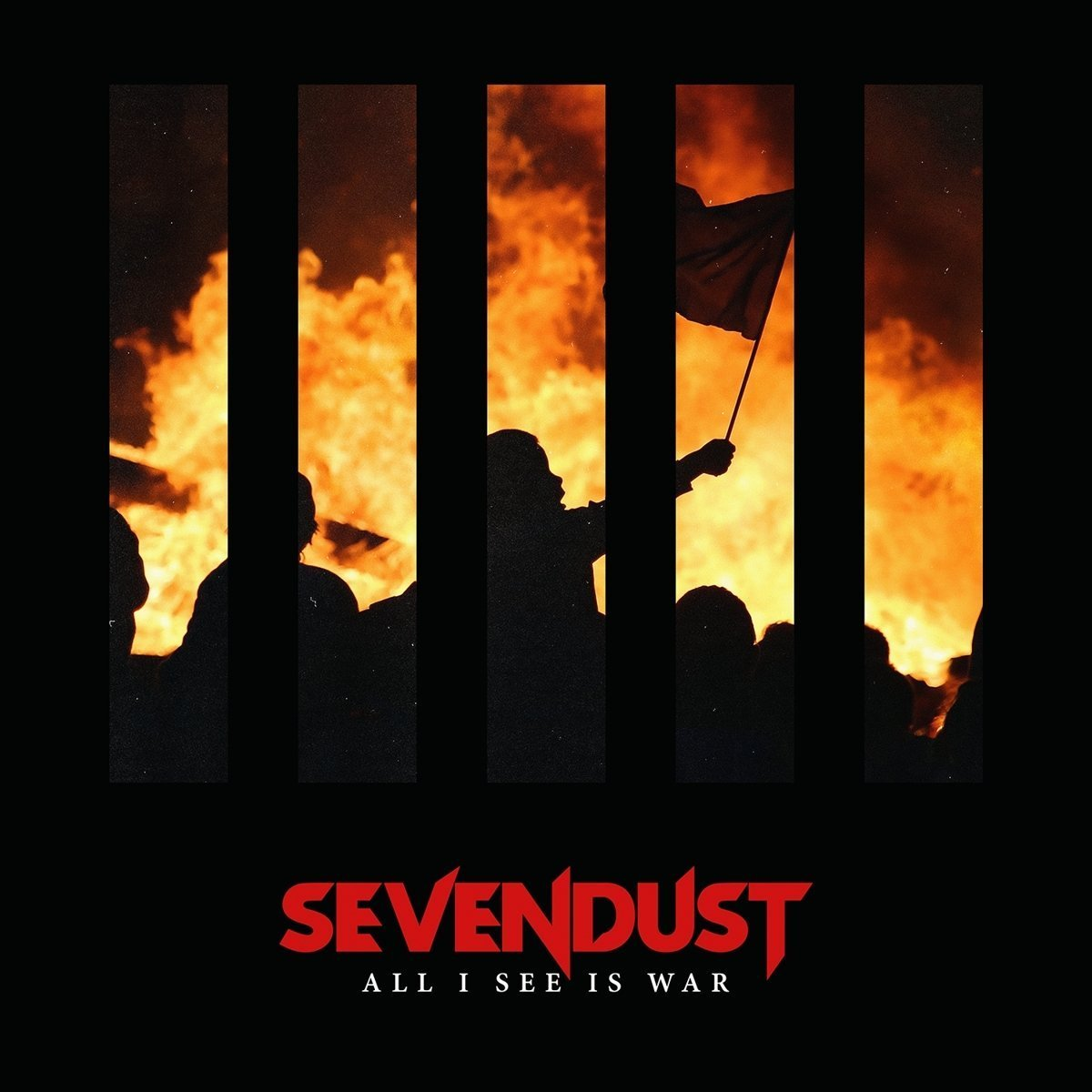 SEVENDUST - All I See is War cover