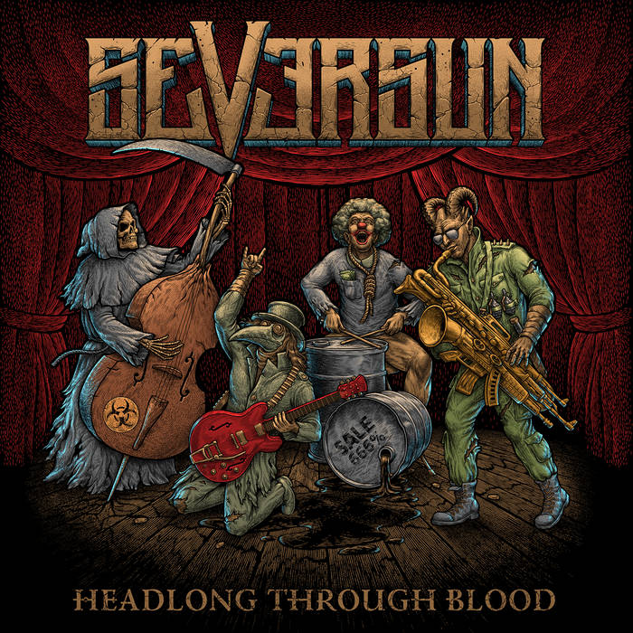 SEVERSUN - Headlong Through Blood cover