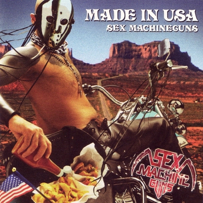 SEX MACHINEGUNS - Made In USA cover