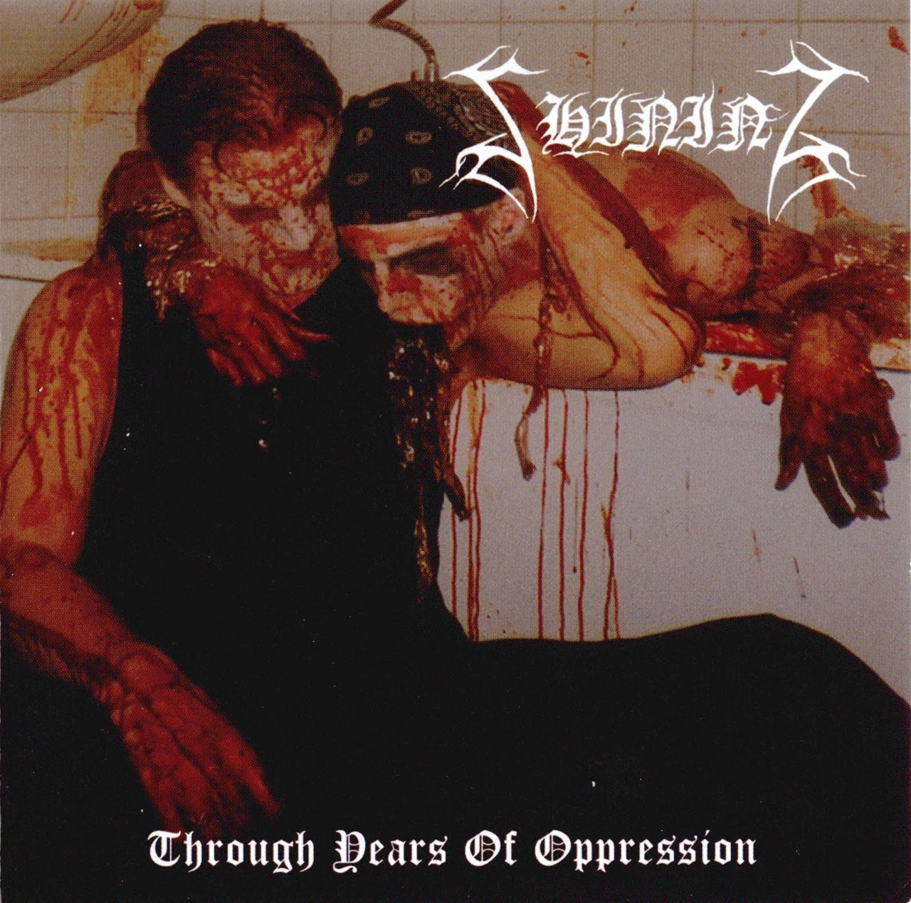 SHINING - Through Years Of Oppression cover