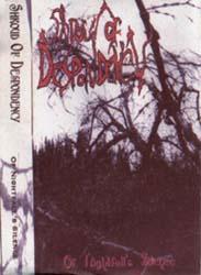 SHROUD OF DESPONDENCY - Of Nightfall's Silence cover