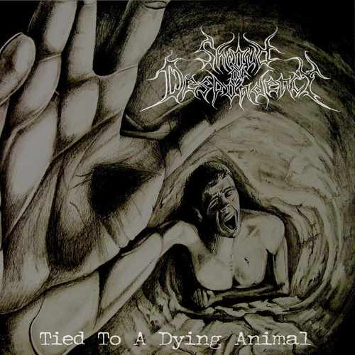 SHROUD OF DESPONDENCY - Tied to a Dying Animal cover