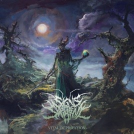 SIGNS OF THE SWARM - Vital Deprivation cover