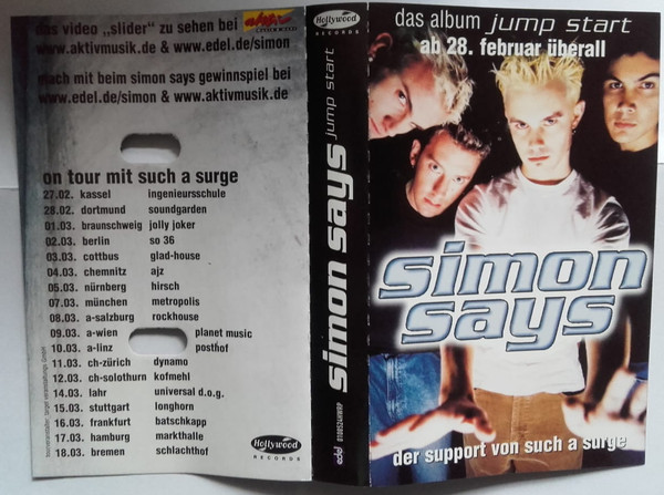 SIMON SAYS - Jump Start cover