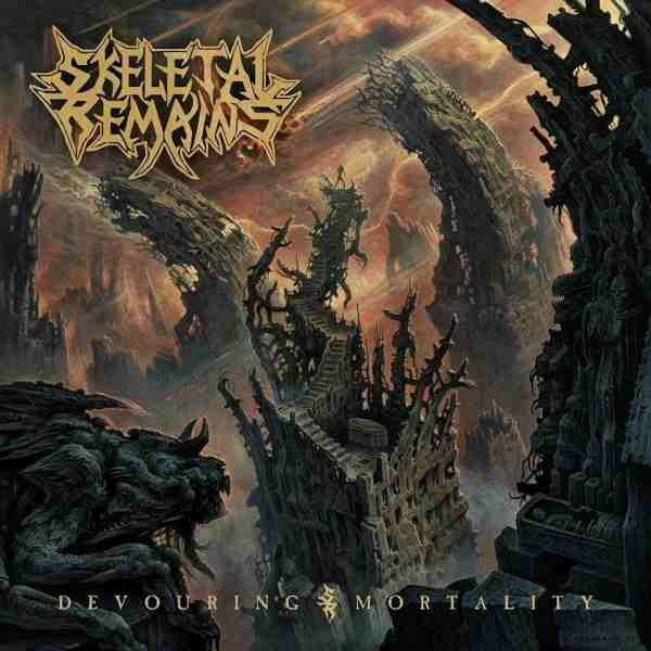 SKELETAL REMAINS - Devouring Mortality cover