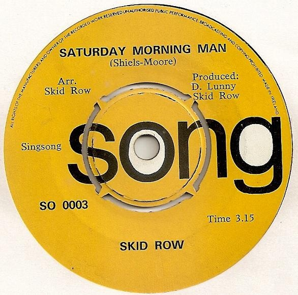 SKID ROW - Saturday Morning Man cover