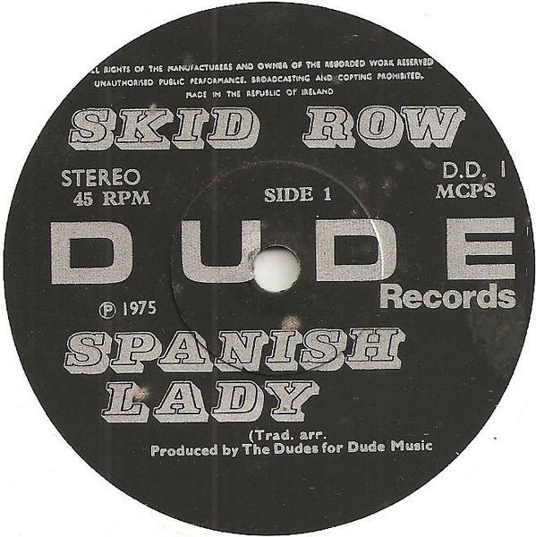 SKID ROW - Spanish Lady cover