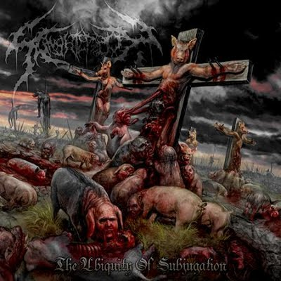 SLAUGHTERBOX - The Ubiquity of Subjugation cover