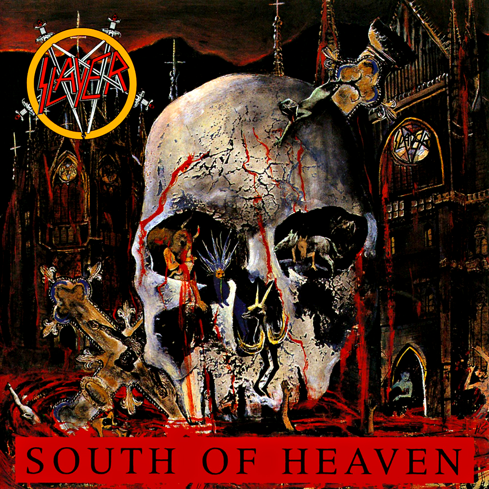 SLAYER - South of Heaven cover