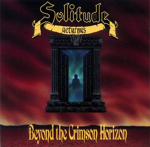 SOLITUDE AETURNUS - Beyond the Crimson Horizon cover