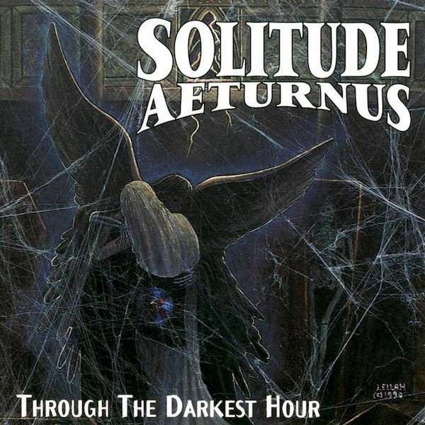 SOLITUDE AETURNUS - Through the Darkest Hour cover