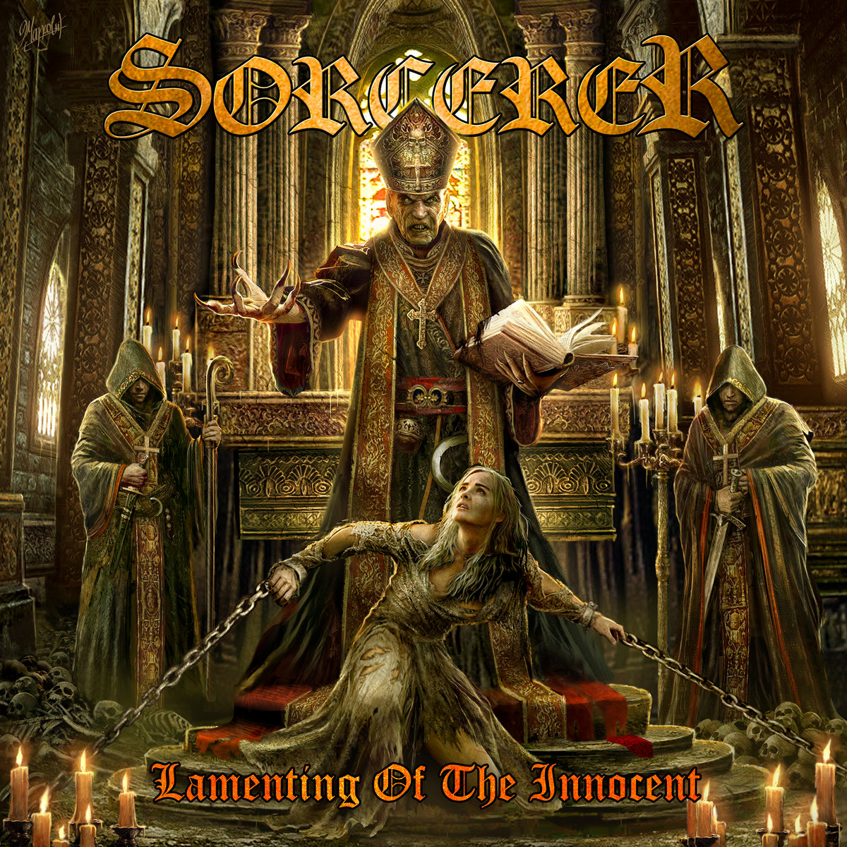 SORCERER - Lamenting of the Innocent cover