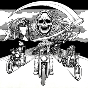 SPEEDWOLF - Ride With Death cover