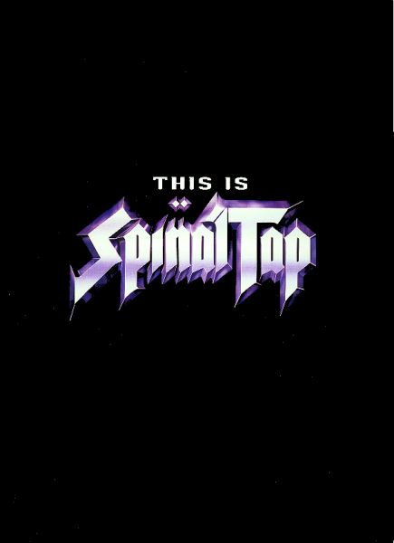 SPINAL TAP - This Is Spinal Tap cover 