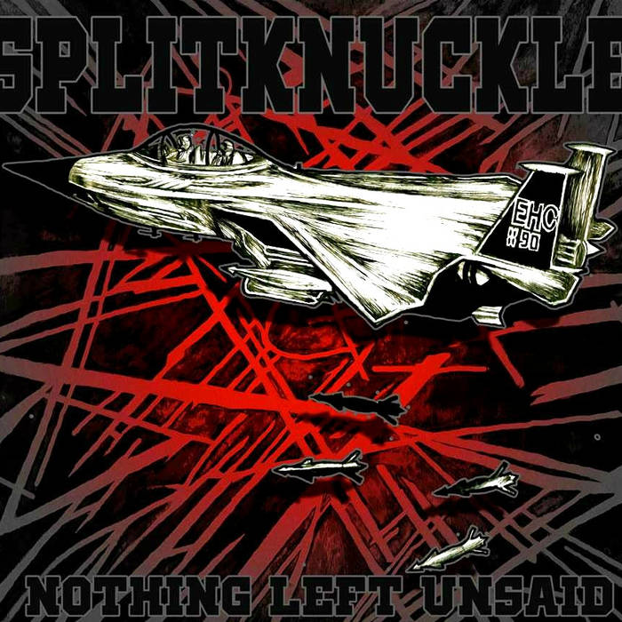 SPLITKNUCKLE - Nothing Left Unsaid cover