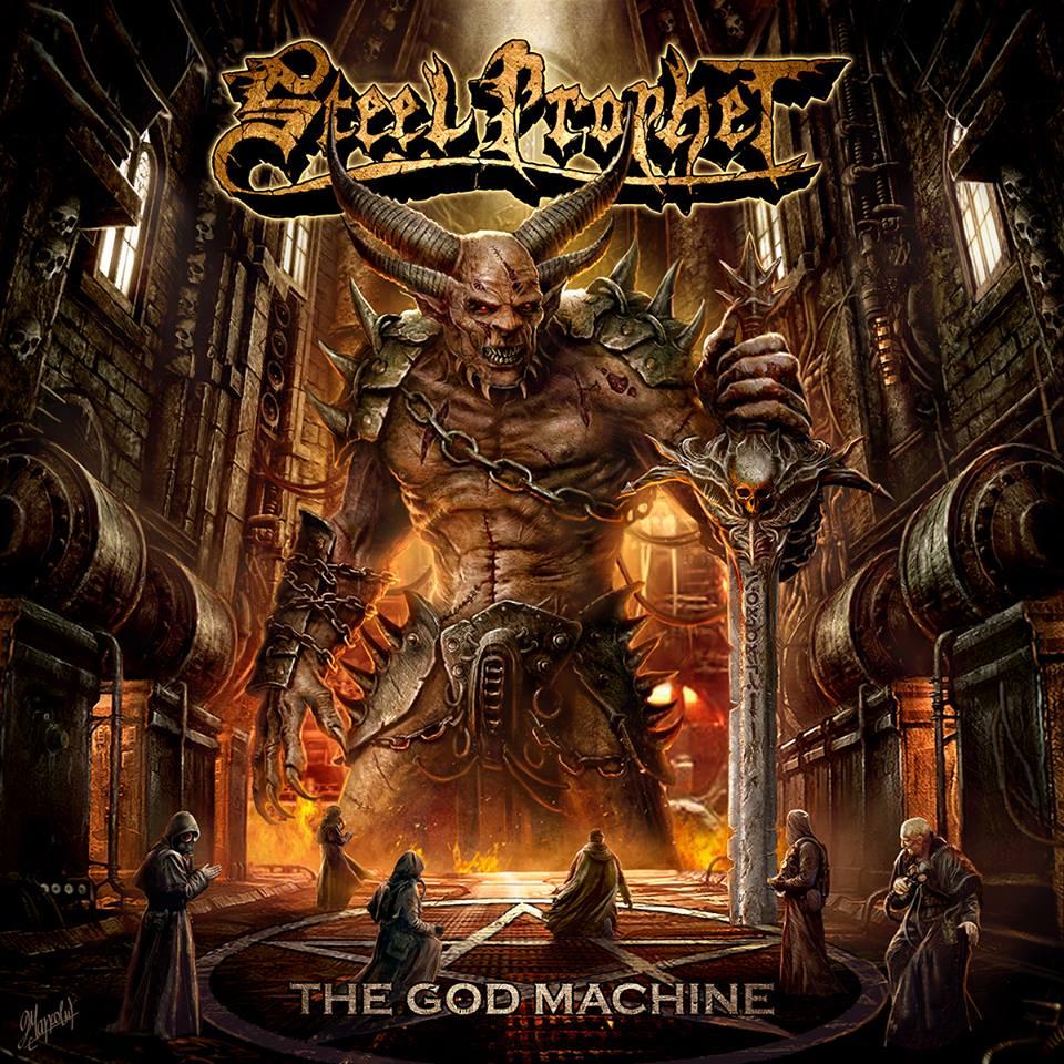 STEEL PROPHET - The God Machine cover