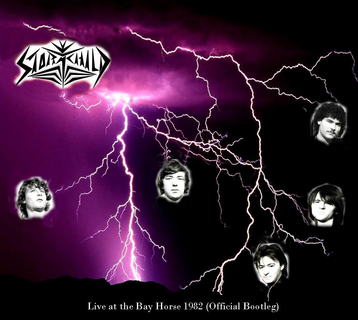 STORMCHILD - Live at The Bay Horse 1982 (Official bootleg) cover