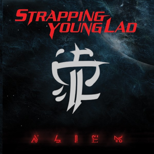 STRAPPING YOUNG LAD - Alien cover