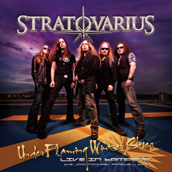 STRATOVARIUS - Under Flaming Winter Skies cover