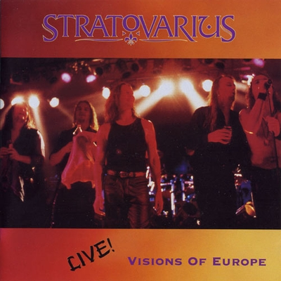 STRATOVARIUS - Visions Of Europe - Live! cover