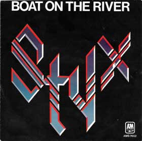 STYX - Boat On The River cover