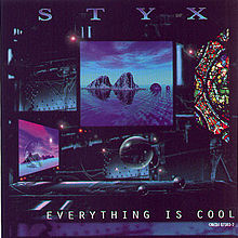 STYX - Everything Is Cool cover