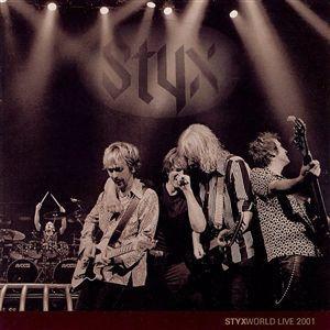 STYX - Styx World: Live 2001 cover