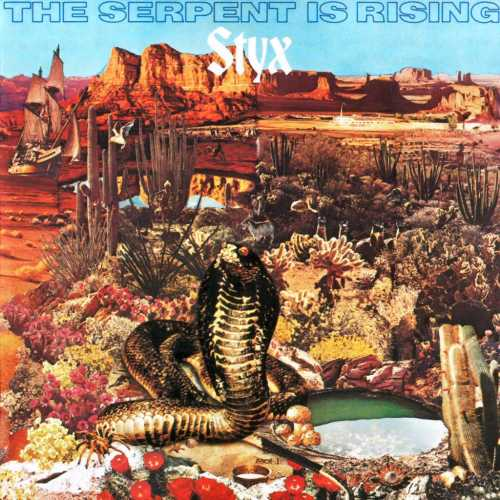 STYX - The Serpent Is Rising cover