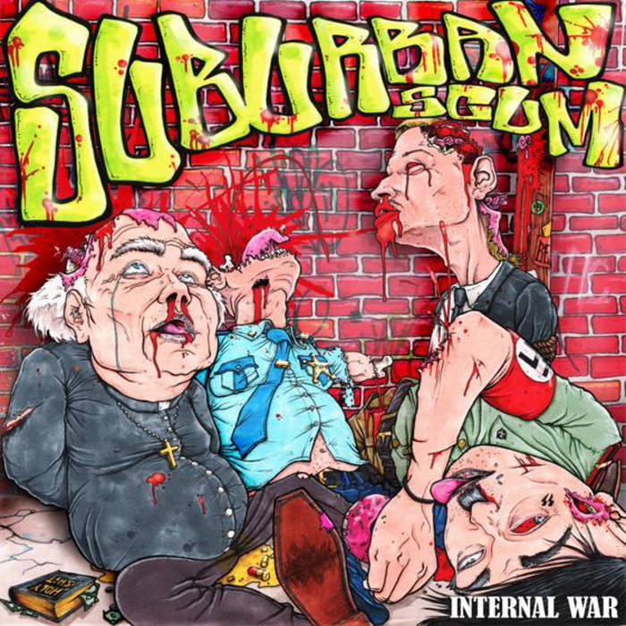 SUBURBAN SCUM - Internal War cover