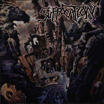 SUFFOCATION - Souls to Deny cover