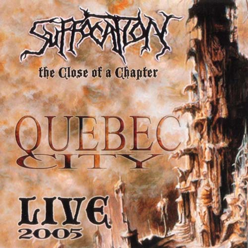 SUFFOCATION - The Close of a Chapter cover
