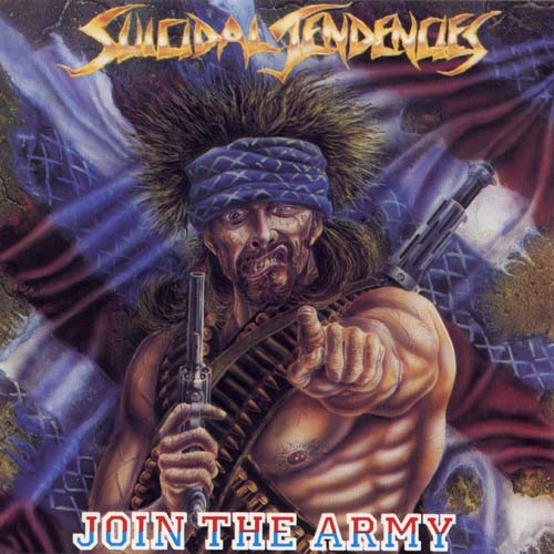 SUICIDAL TENDENCIES - Join the Army cover