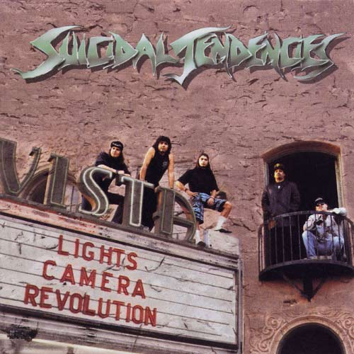 SUICIDAL TENDENCIES - Lights... Camera... Revolution! cover