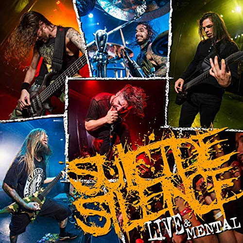 SUICIDE SILENCE - Live & Mental cover
