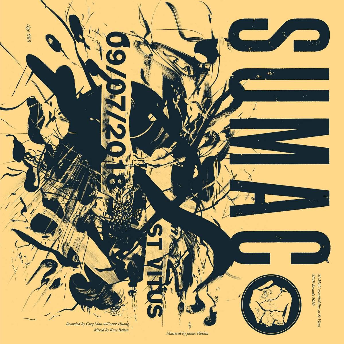 SUMAC - St Vitus 09/07/2018 cover