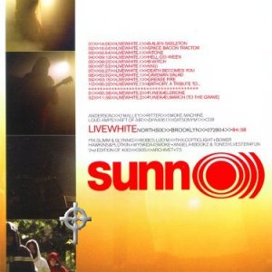 SUNN O))) - Live White cover