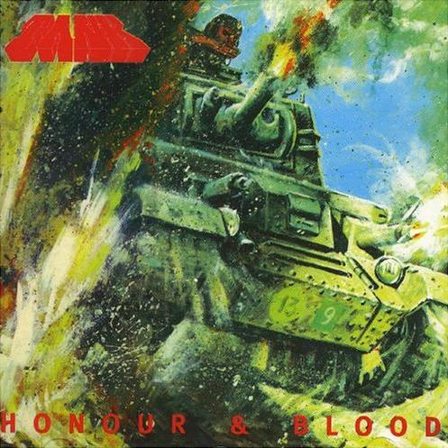 TANK - Honour & Blood cover