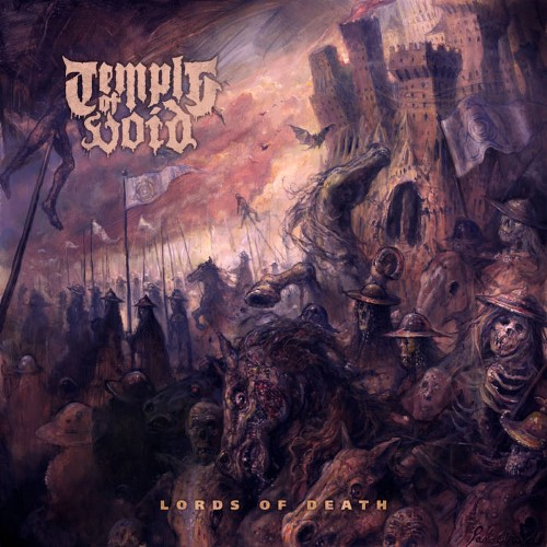 TEMPLE OF VOID - Lords of Death cover