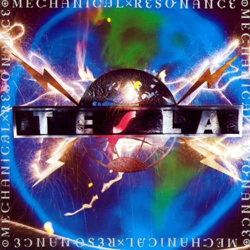 TESLA - Mechanical Resonance cover