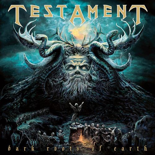TESTAMENT - Dark Roots Of Earth cover