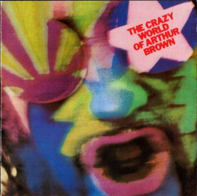 THE CRAZY WORLD OF ARTHUR BROWN - The Crazy World of Arthur Brown cover