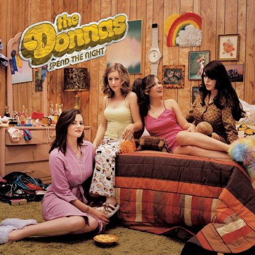 THE DONNAS - Spend the Night cover