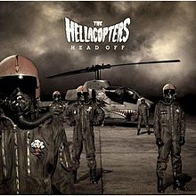 THE HELLACOPTERS - Head Off cover