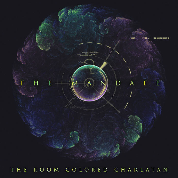 THE ROOM COLORED CHARLATAN - The Mandate cover